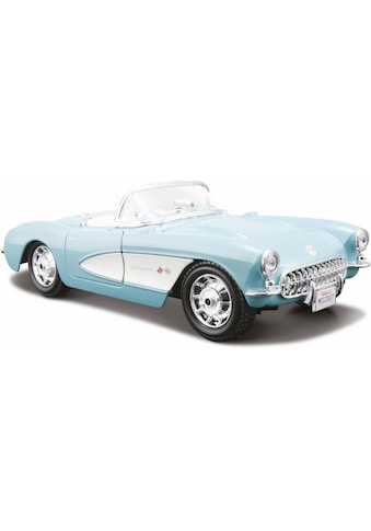 Maisto® Sammlerauto »Chevrolet Corvette '57, 1:24, türkis«, 1:24, aus Metallspritzguss kaufen