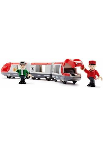 BRIO® Spielzeug-Eisenbahn »BRIO® WORLD Roter Reisezug«, FSC® - schützt Wald - weltweit kaufen