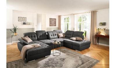 DELAVITA Wohnlandschaft »Lotus«, incl. Sitztiefenverstellung, in 3 Bezugsarten,... kaufen