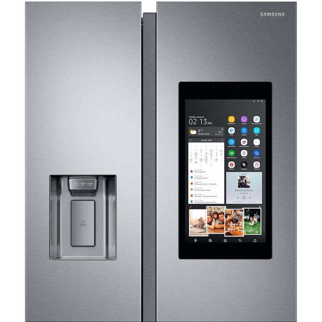 Samsung Side-by-Side »RS68N8941SL Family Hub«, RS8000, RS68N8941SL, 178 cm hoch, 91,2 cm breit, No Frost