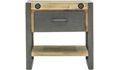 Quadrato Beistelltisch »Mirage«, Tischplatte, Seitenteile aus massiven Akazienholz,... kaufen