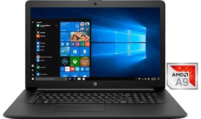HP 17 - ca0030ng Notebook (43,9 cm / 17,3 Zoll, AMD,A9, 1000 GB HDD) kaufen