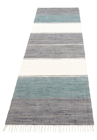 Läufer, »Paula«, Lüttenhütt, rechteckig, Höhe 5 mm, handgewebt kaufen