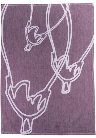 stuco Geschirrtuch »Caponata«, (Set, 3 tlg.), Jacquardgewebe kaufen