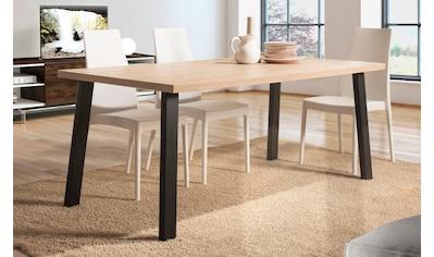 Home affaire Esstisch »Pisa«, mit einer 4 cm starken Tischplatte, im hochwertigen... kaufen