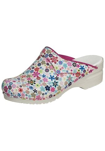 Clog »101140314-13«, Sanita Clog pink Flower SRC kaufen
