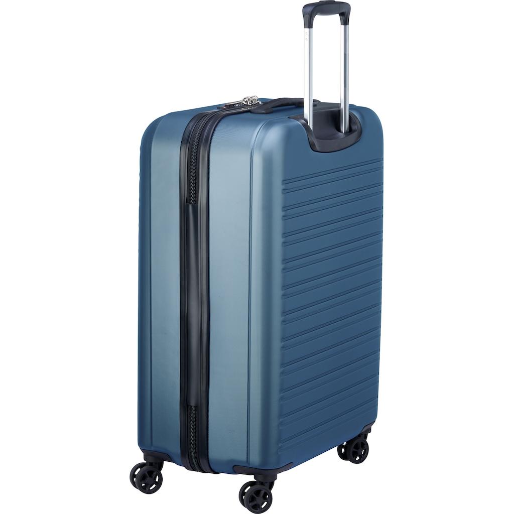 Delsey Hartschalen-Trolley »Segur, 81 cm, blue«, 4 Rollen