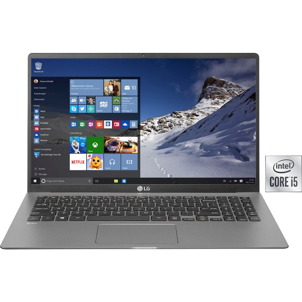 LG Notebook »15Z90N-V.AR55G«, ( 512 GB SSD)