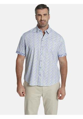 Charles Colby Kurzarmhemd »DUKE CECIL«, florales Streifenmuster kaufen