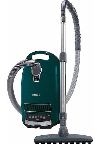 Bodenstaubsauger, Miele, »Complete C3 TotalCare EcoLine  -  SGJP3 mit Beutel Petrol« kaufen