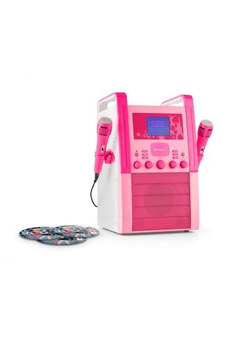 Auna Karaokeanlage Kinder Karaoke Singen CD Player 2 Mikrofone »Sing About« kaufen