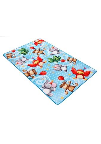 Böing Carpet Fußmatte »Lovely Kids LK-4«, rechteckig, 2 mm Höhe, Schmutzfangmatte,... kaufen