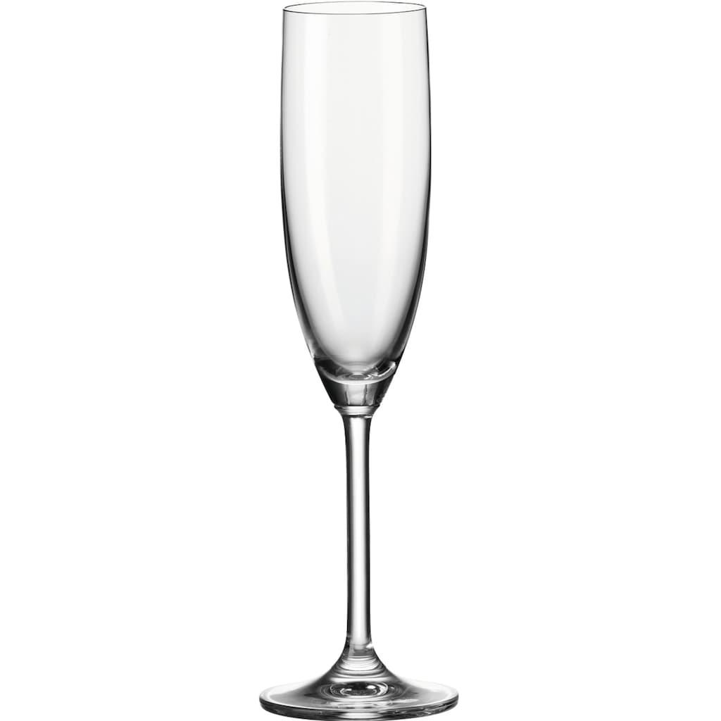 LEONARDO Sektglas »Daily«, (Set, 6 tlg.), 200 ml, 6-teilig