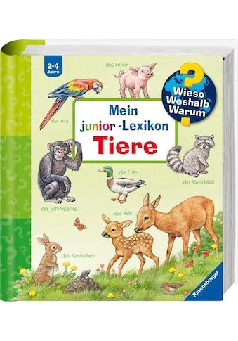 Ravensburger Buch »Mein junior-Lexikon: Tiere - Wieso? Weshalb? Warum?«, Made in Europe kaufen
