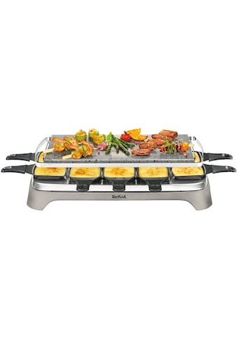 Tefal Raclette »Pierrade PR457B«, 10 St. Raclettepfännchen, 1350 W, Grill-Platte aus... kaufen