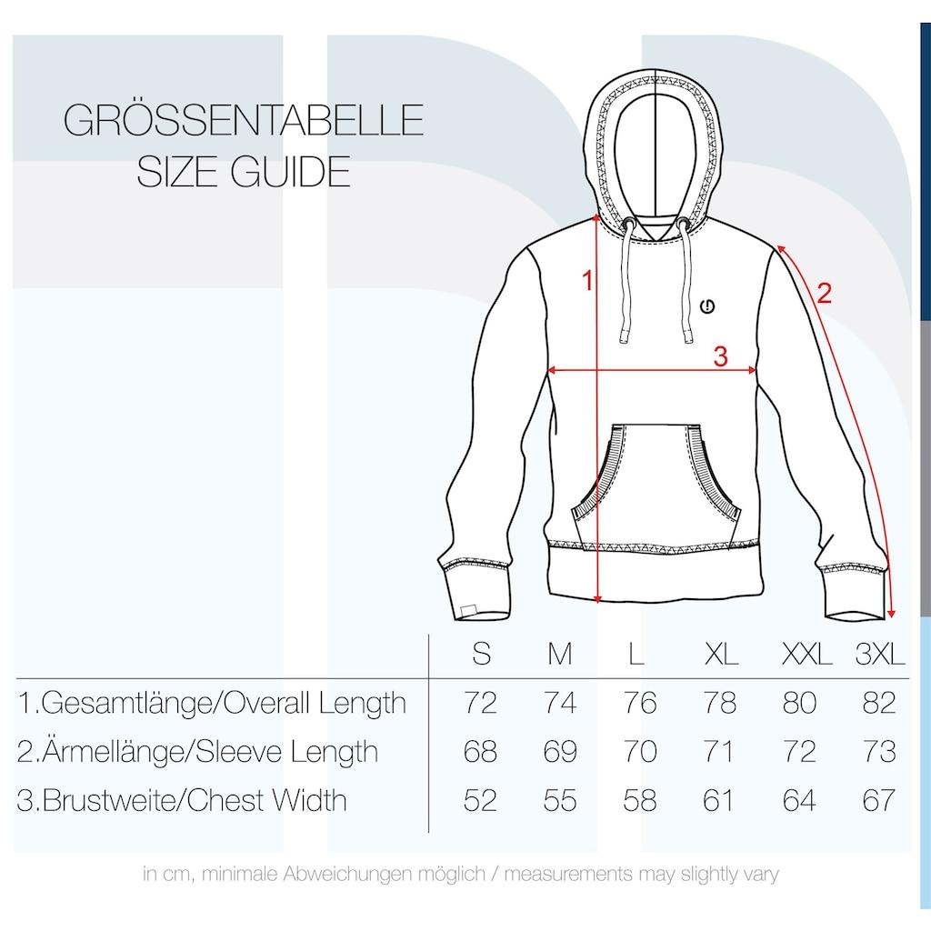 Solid Hoodie »BennHood«, Kapuzensweatshirt mit kontrastfarbenenen Details