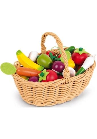 Janod Spiellebensmittel »Obst- und Gemüse Sortiment im Korb« kaufen