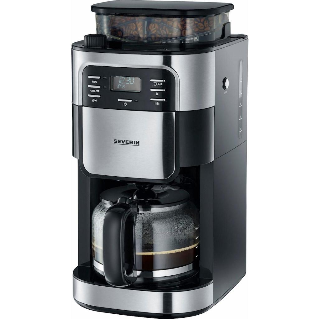 Severin Kaffeemaschine mit Mahlwerk »KA 4810«, Permanentfilter, 1x4, Mahlwerk-Deaktivierungsfunktion