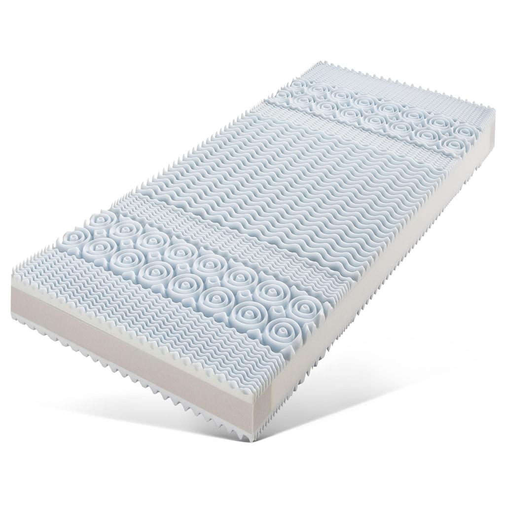 fan Schlafkomfort Exklusiv Taschenfederkernmatratze »ProVita Luxus Med 24 T«, 24 cm cm hoch, 544 Federn, (1 St.), Gütesiegel 5 Sterne SEHR GUT-Bewertung