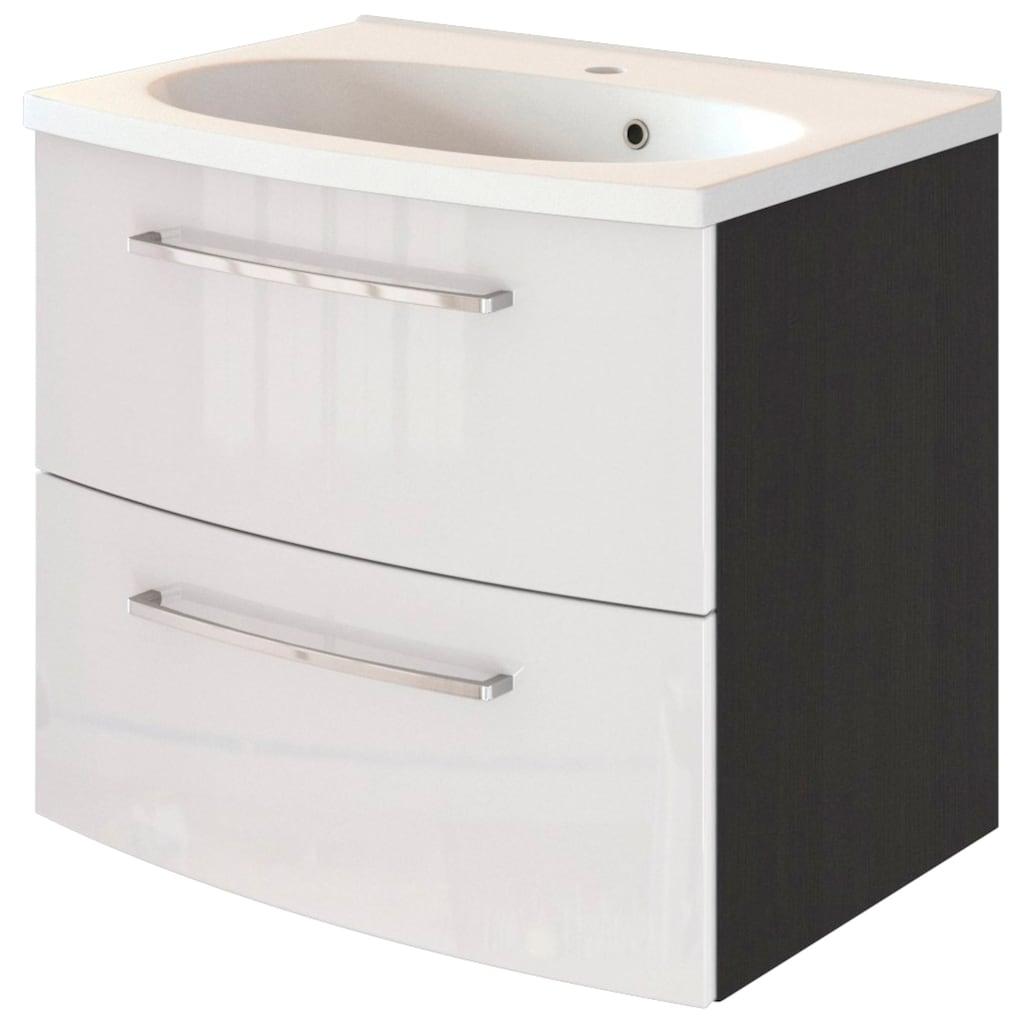 HELD MÖBEL Waschtisch »Catania WT 60«, mit 2 Schubladen