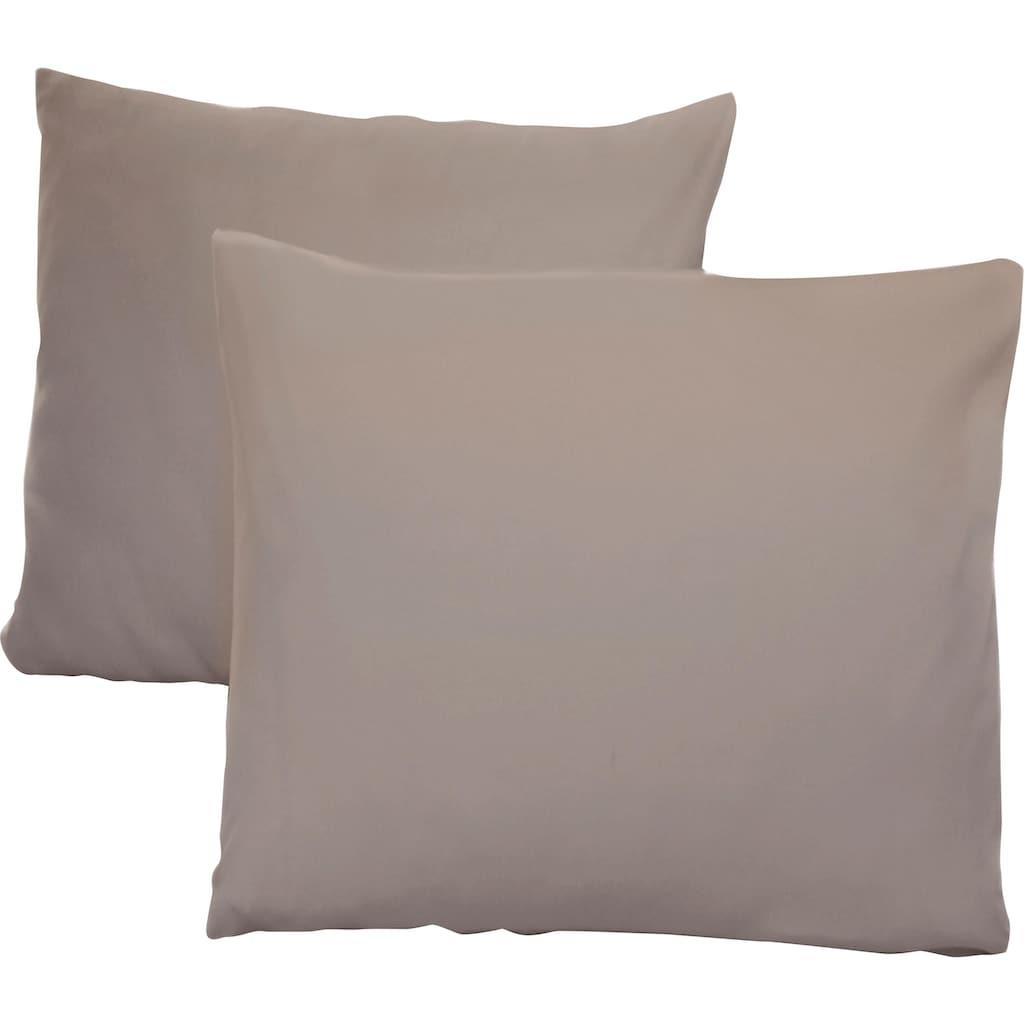 Schlafgut Kissenbezug »Jersey«, (2 St.), mit Aloe Vera Ausrüstung