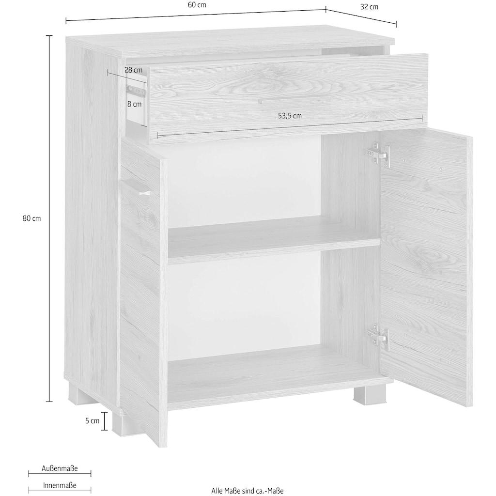 Wilmes Unterschrank »Kao«, Badmöbel aus Holzwerkstoff
