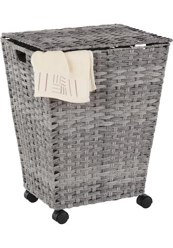 Home affaire Wäschekorb, mit Rollen kaufen