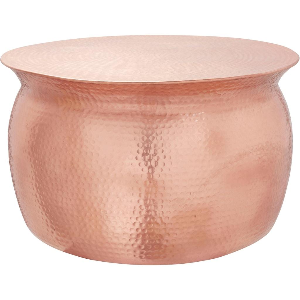 Leonique Couchtisch »Melun«, in verschiedenen Größen erhältlich, aus Aluminium