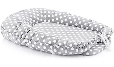 Babyjem Bettnestchen »grau« kaufen