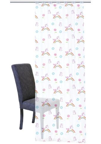HOME WOHNIDEEN Vorhang »EINHORN«, HxB: 245x140 kaufen