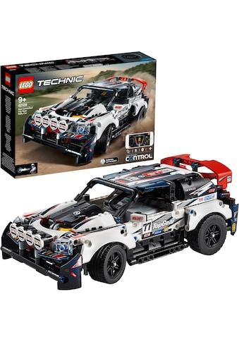 """LEGO® Konstruktionsspielsteine """"Top - Gear Ralleyauto mit App - Steuerung (42109), LEGO® Technic"""", Kunststoff, (463 - tlg.) kaufen"""