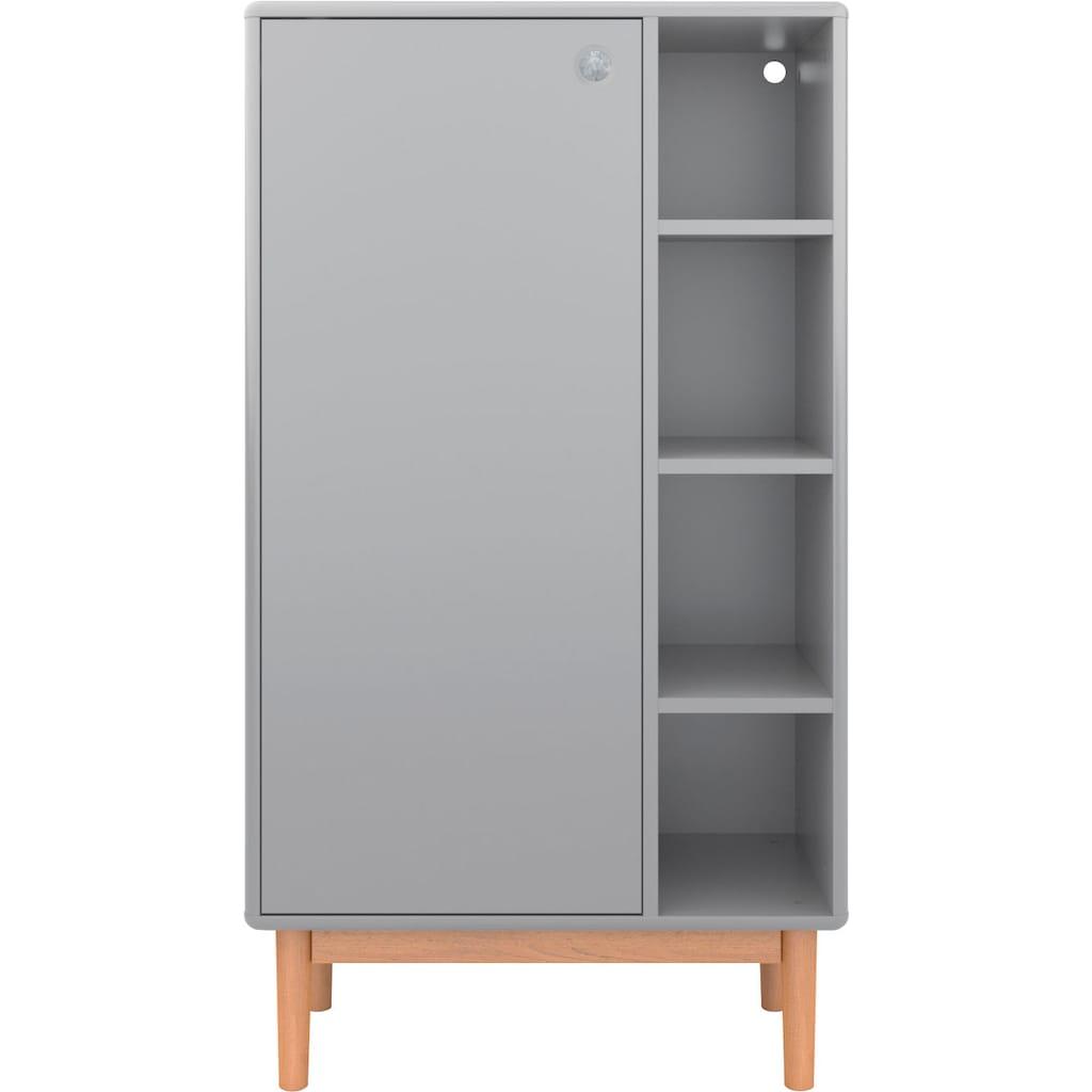 TOM TAILOR Aktenschrank »COLOR OFFICE«, mit 1 Tür, mit Füßen in Eiche geölt, Breite 65 cm