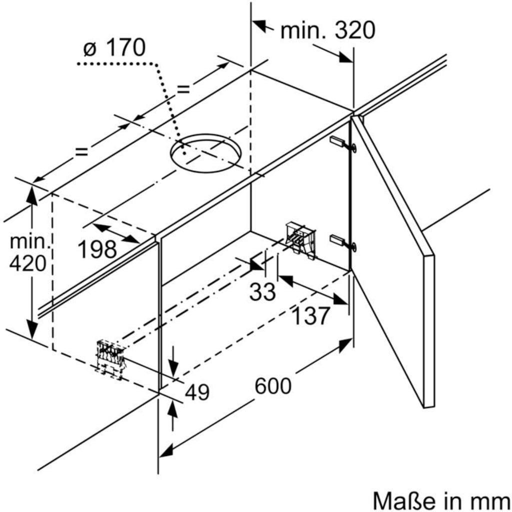 SIEMENS Flachschirmhaube »LI69SA683«, Serie iQ700