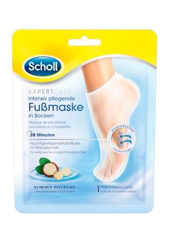 Scholl Fußmaske »Expert Care Intensiv pflegend«, in Socken kaufen