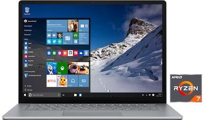 "Microsoft Notebook »Surface Laptop 4«, (38,1 cm/15 "" AMD Ryzen 7 Radeon™\r\n 256 GB SSD) kaufen"