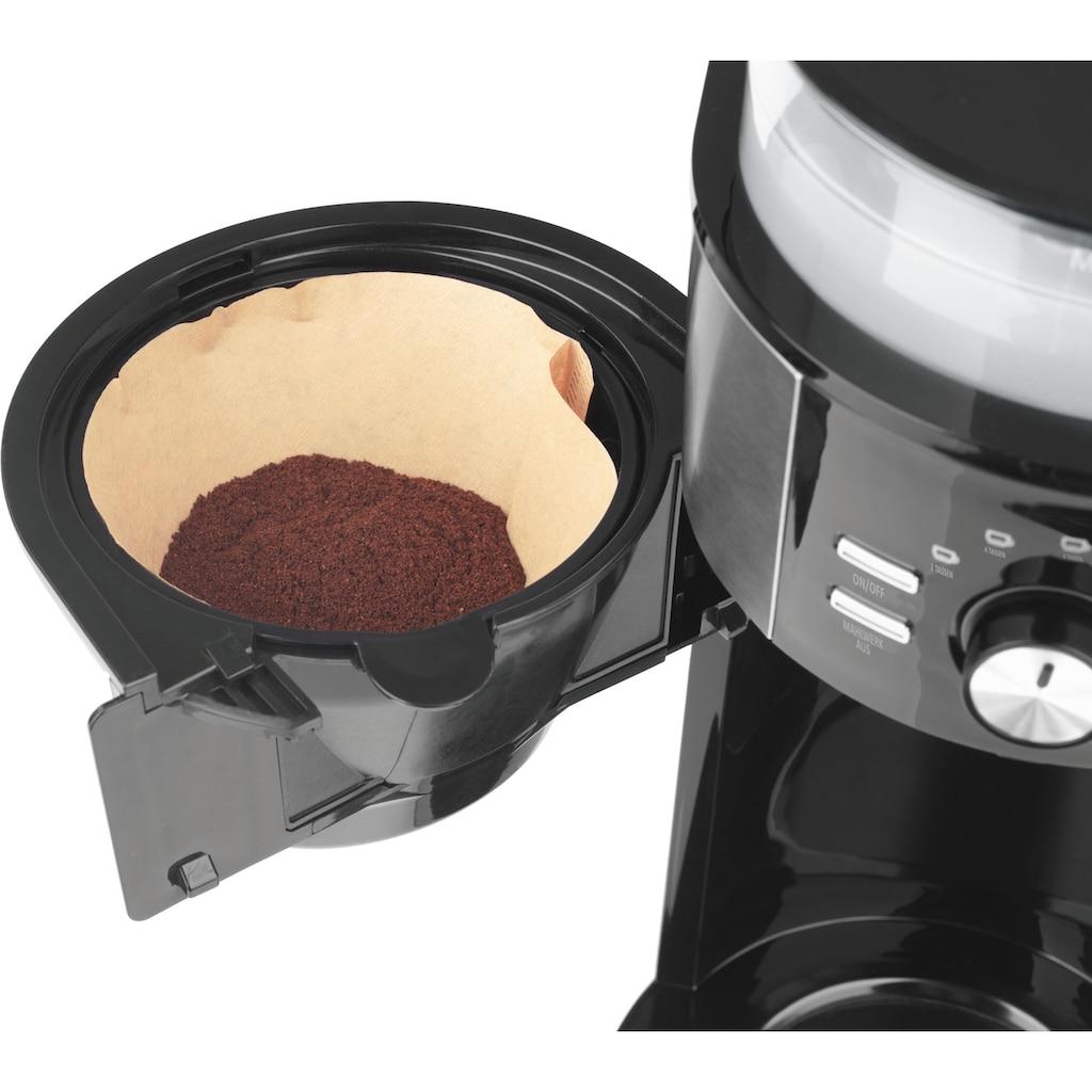 BEEM Kaffeemaschine mit Mahlwerk »Fresh-Aroma-Intense«, Papierfilter, 1x4, Glas
