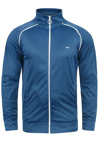 Solid Trainingsjacke »Leander«, Sweatshirtjacke mit weißem Reißverschluss kaufen
