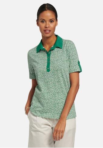 Peter Hahn Poloshirt »Polo-Shirt mit 1/2-Arm«, mit Kontrastverarbeitung kaufen