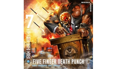 Musik-CD »And Justice for None / Five Finger Death Punch« kaufen