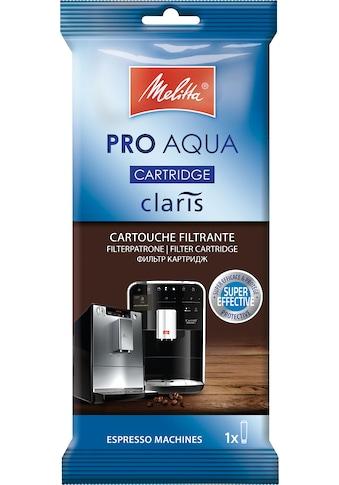 Melitta Wasserfilter PRO AQUA, Zubehör für Claris System in Kaffeevollautomaten kaufen