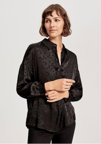 OPUS Klassische Bluse »Fatilla«, im Pünktchen Design kaufen