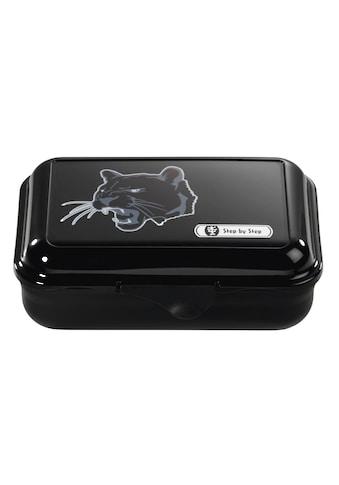 "Step by Step Lunchbox ""Wild Cat Wildkatze"" Brotzeitbox, Schwarz kaufen"