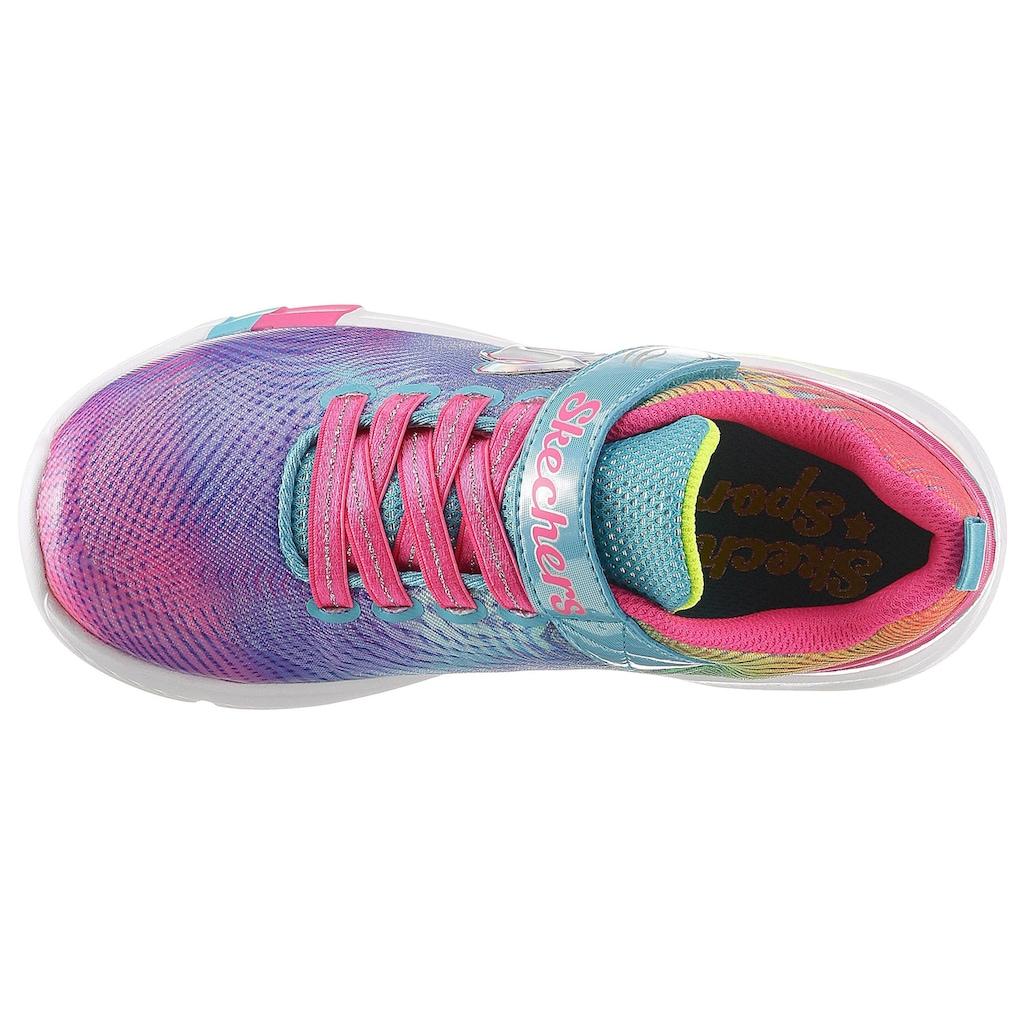 Skechers Kids Sneaker »Dreamy Lites«, in Regenbogenfarben