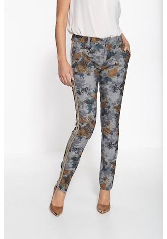 ATT Jeans Stretch-Hose »Valeria«, mit detailreicher Musterung und seitlich... kaufen