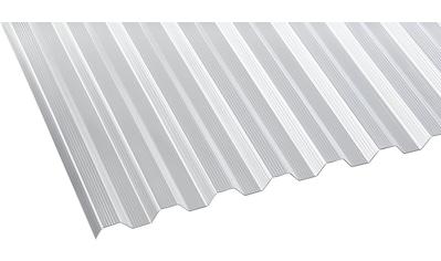 GUTTA Wellplatte Polycarbonat klar, Trapez, BxL: 90x200 cm kaufen
