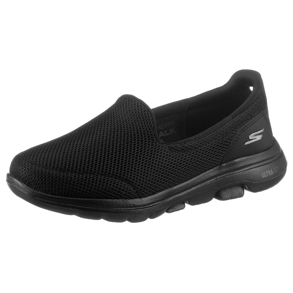 Skechers Slipper »GO WALK 5«, für Maschinenwäsche geeignet