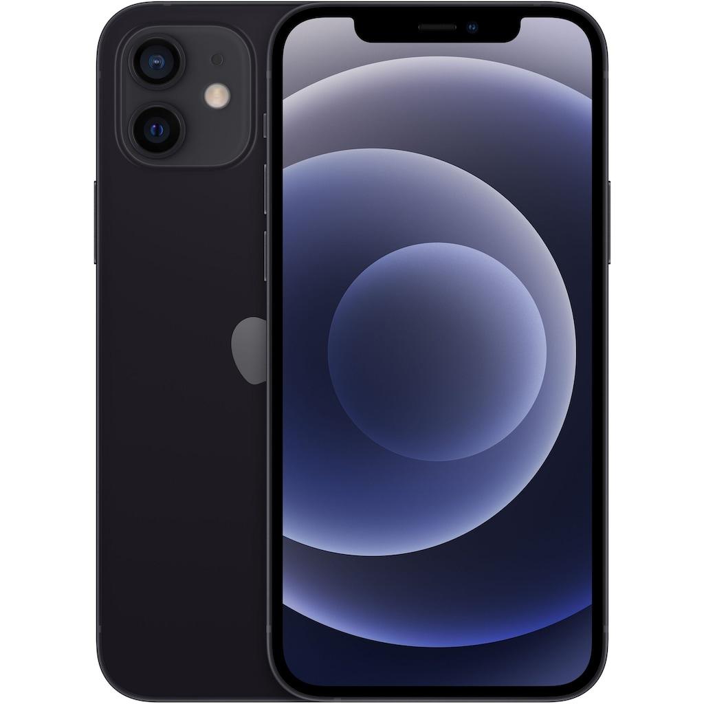 """Apple Smartphone »iPhone 12«, (15,5 cm/6,1 """", 128 GB Speicherplatz, 12 MP Kamera), ohne Strom Adapter und Kopfhörer, kompatibel mit AirPods, AirPods Pro, Earpods Kopfhörer"""