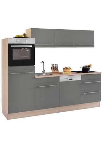 OPTIFIT Küchenzeile »Bern«, (Spar-Set), mit E-Geräten, Breite 240 cm mit... kaufen