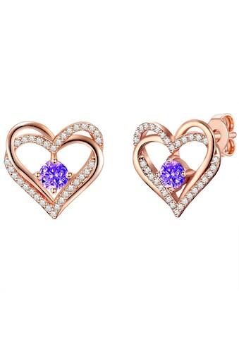 Rafaela Donata Paar Ohrstecker »Set: RD359«, (2 tlg.), verziert mit Kristallen von... kaufen