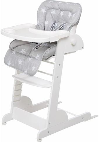 roba® Hochstuhl »Treppenhochstuhl, Chill Up, weiß«, aus Holz kaufen